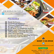 Food Delivery Near Me London | Job World Factory Food Delivery
