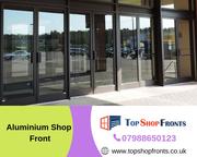 Maximize your entrances beautification with aluminium shop fronts