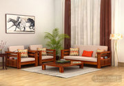 Sale!! Get Lovely Wooden Sofas in UK at WoodenStreet