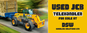 Used JCB Telehandler for Sale AT DSW Handling Solutions LTD