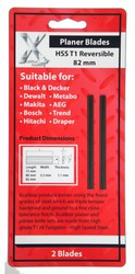 1 pair 82mm Planer Blades for Black & Decker X24192 KW715