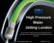 High Pressure Water Jetting Services London