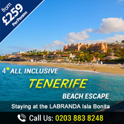 Great Savings on Tenerife Beach Escapes – Save Up to 33%