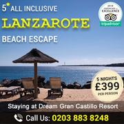 Exciting Savings on Lanzarote Beach Escapes – Save Up to 37%