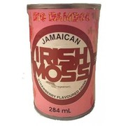 Big Bamboo Irish Moss Strawberry 284ml