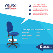Comfortable Draughtsman Chair in UK