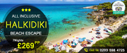Savings on All Inclusive Halkidiki Beach Escape – Save Up to 43%
