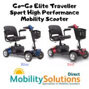 Go-Go Elite Traveller Sport High Performance Mobility Scooter