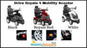 Purchase Amazing Drive Royale 4 Mobility Scooter at a Decent Price