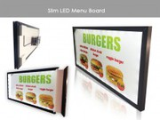 Get High Qualities Menu Display Services in London