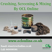 Crushing,  Screening & Mixing By OCl Online