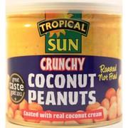 Tropical Sun Crunchy Coconut Peanuts 165g