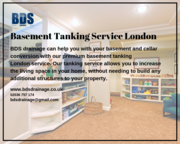 Best Basement Tanking Service London - BDS Drainage