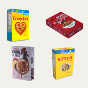 Get Custom Cereal Packaging Boxes at OXO Packaging