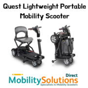 Get Quest Lightweight Portable Mobility Scooter for Active Lifestyle