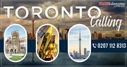 Enjoy the best cheap tickets to Toronto from London with us!
