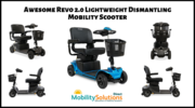 Get Revo 2.0 Lightweight Dismantling Mobility Scooter Online