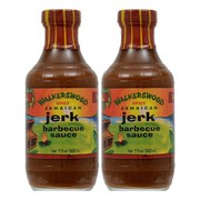 Walkerswood Spicy Jamaican Jerk Barbecue Sauce 500ml (Pack of 2)