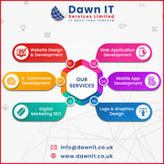 Web and Mobile App Development Company in London,  UK | dawnit.co.uk