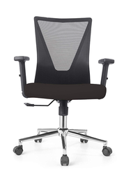 Low Back Black Mesh Operators Revolving Chair