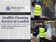 Graffiti Cleaning in London by Basildon Stone Ltd