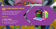 12ft Disco Bouncy Castle