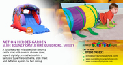Garden Slide Bouncy Castle