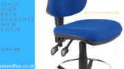 Juno High Back Draughtsman Chair for Sale