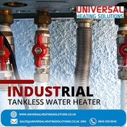 Industrial Tankless Water Heater
