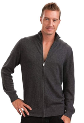 Citizen Cashmere Zip Up Cardigan for Mens