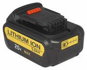 18V 5.0Ah Power Tool Battery for Dewalt DCB184-XE