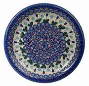 Polish pottery hand painted ceramic dishes