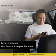 Heathrow to London Limousine | Book Online Transfer now