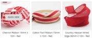 Valentine's Day Gift Wrapping Ribbons
