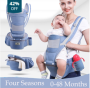 New 0-48 Month Ergonomic Baby Carrier Infant Baby Hipseat Carrier 3 In