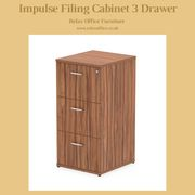 Impulse Filing Cabinet 3 Drawer