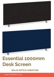 Essential 1000mm Desk Screen