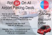 Best 2020 Flat 15% off on Airport Parking Deals in UK Airports