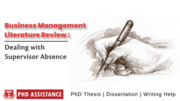 PhD management literature review - Phdassistance.com