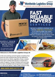 Fast Reliable Movers Services in UK