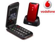 TTfone Nova TT650 Red Vodafone Pay As You Go