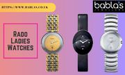 Beautiful and Unique Rado Ladies Watches | Babla's Jewellers