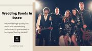 Hire a Wedding Band in Essex | Revolve Party Band