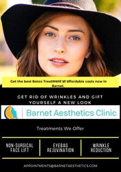 Get the best Botox Treatment at affordable costs now in Barnet.