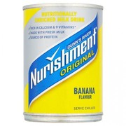 Dunn's River Nurishment Original Banana Flavour 400g (Pack of 12)