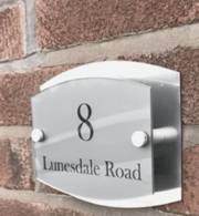 Online Personalised House Signs   One Of A Kind Design UK