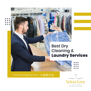 Full Steam Ahead Laundry Services in Sylvia Grey dry cleaning
