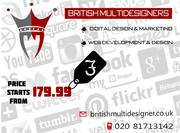 Web Design UK | Web Page Design | British Multi Designers