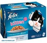 Felix As Good As It Looks Kitten Cat Food Fish