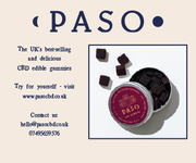 Buy the best selling Paso CBD Vegan Gummies: Now for sale in the UK